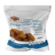 Hannaford Breaded Nugget Shaped Chicken Breast Nuggets