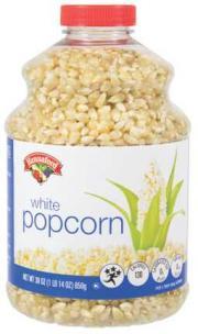 Hannaford White Popcorn