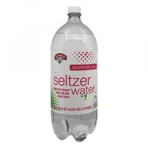 Hannaford Raspberry Lime Seltzer