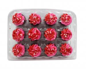 Mini Chocolate Valentine's Day Cupcakes
