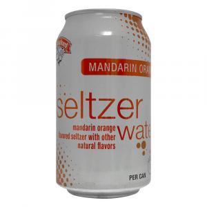 Hannaford Mandarin Orange Seltzer Water