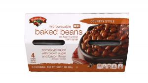 Hannaford Microwavable Baked Beans Country Style