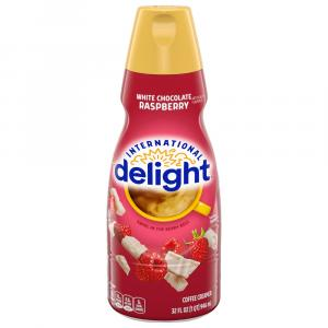 International Delight White Chocolate Raspberry Creamer