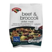 Hannaford Beef and Broccoli