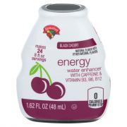 Hannaford Black Cherry Energy Water Enhancer