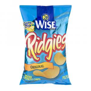 Wise Ridgies Potato Chips