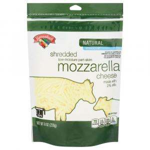 Hannaford Reduced Fat Mozzarella Shredded Cheese