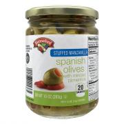 Hannaford Stuffed Manzanilla Spanish Olives