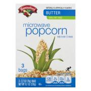 Hannaford Butter 94% Fat Free Microwave Popcorn