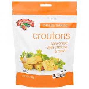 Hannaford Cheese Garlic Croutons