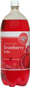 Hannaford Strawberry Soda