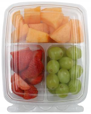 Snack Pals Green Grapes, Strawberries & Cantaloupe