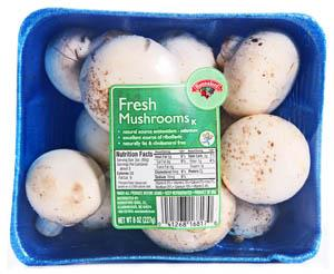 Hannaford Fresh Whole Mushrooms