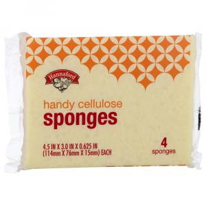 Hannaford Handy Cellulose Sponges