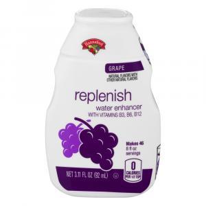 Hannaford Grape Replenish Water Enhancer