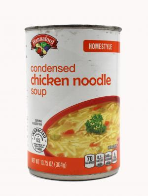 Hannaford Homestyle Chicken Noodle Soup