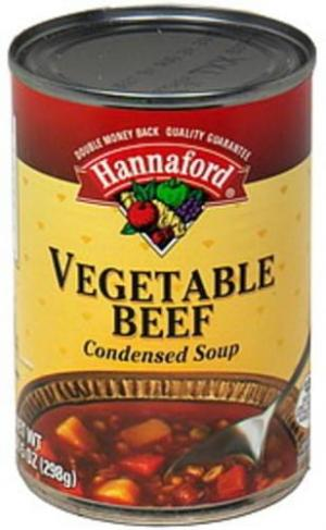 Hannaford Classic Condensed Vegetable Beef Soup