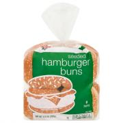 Hannaford Seeded Hamburger Buns