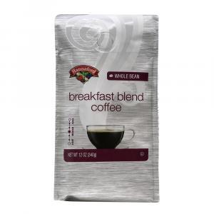 Hannaford Breakfast Blend Whole Bean Coffee