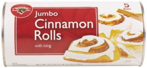 Hannaford Jumbo Cinnamon Rolls