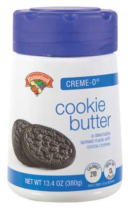 Hannaford Creme-o Cookie Butter