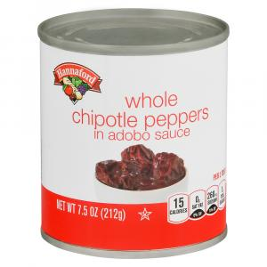 Hannaford Whole Chipotle Peppers in Adobo Sauce