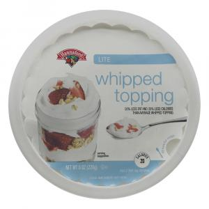 Hannaford Lite Whipped Topping