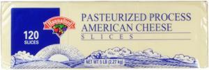 Hannaford White American Cheese Slices
