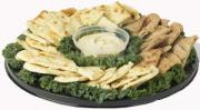 Naan & Hommus Party Platter