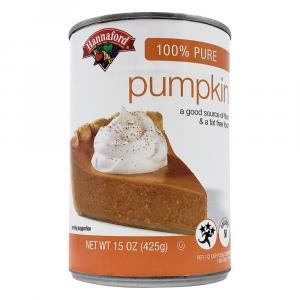 Hannaford 100% Pure Pumpkin