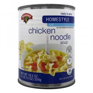 Hannaford RTS Homestyle Light Chicken Noodle Soup
