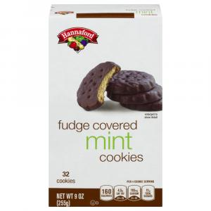 Hannaford Chocolate Covered Mint Cookies