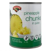 Hannaford Pineapple Chunks in Juice