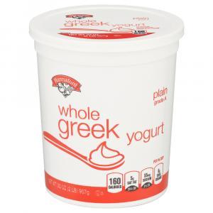 Hannaford Plain Whole Milk Greek Yogurt