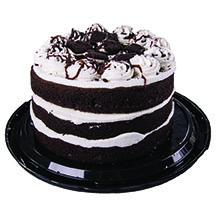 "Hannaford 6.5"" Triple Layer Cookies n Creme Cake"