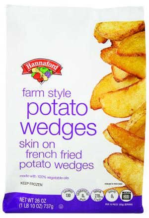 Hannaford Farm Style French Fried Potato Wedges