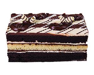 Triple Chocolate Tiger Cake Bar