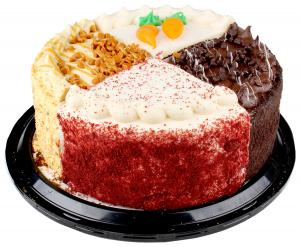 """8"""" Double Layer Variety Cake"""