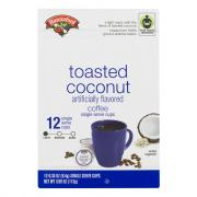 Hannaford Toasted Coconut Coffee Single Serving Cup