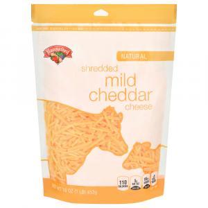 Hannaford Natural Mild Cheddar Shredded Cheese