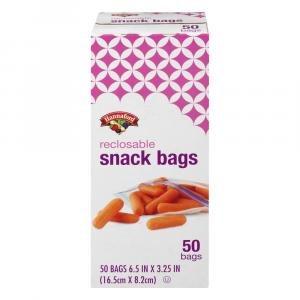 Hannaford Reclosable Snack Bags