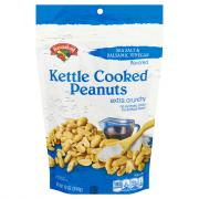 Hannaford Sea Salt & Balsamic Vinegar Kettle Cooked Peanuts
