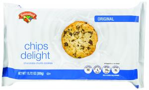 Hannaford Chips Delight Chocolate Chip Cookies