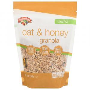 Hannaford Oat & Honey Low Fat Granola