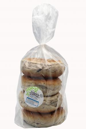 Nature's Promise Blueberry Bagels