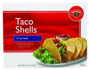 Hannaford Taco Shells