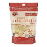 Hannaford Double White Shredded Cheddar Cheese