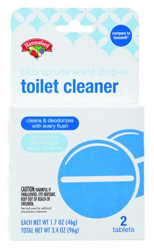 Hannaford Blue Toilet Bowl Cleaner Tablets