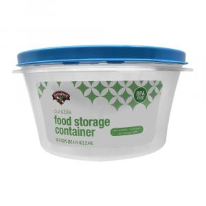 Hannaford 10.3-Cup Round Food Storage Container