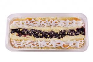 Cherry Cheese Strip Danish